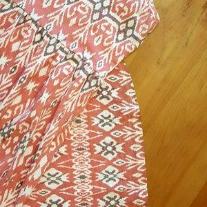 Billabong hi/lo maxi tribal sun dress